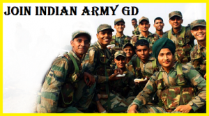 INDIAN ARMY GD