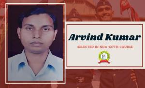 ARVIND KUMAR Indian Army NDA 127th COURSE