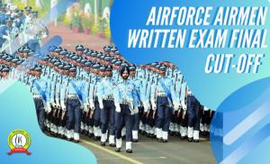 AIRFORCE AIRMEN EXAM 2019-20 FINAL CUTOFF