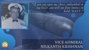Unsung hero of Indian Airforce- Vice Admiral Nilakanta Krishnanan