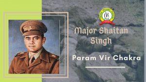 Major Shaitan Singh- A hero who fought  with his leg