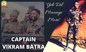 The legendary hero of Kargil war Captain Vikram Batra