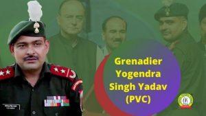 Only Param Vir Chakra awardee who received highest gallantry award while alive- Yogendra Singh Yadav