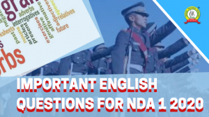 Important English Questions for NDA I 2020
