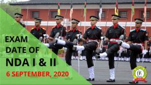 UPSC announces NDA ( I ) and NDA ( II ) 2020 exam date