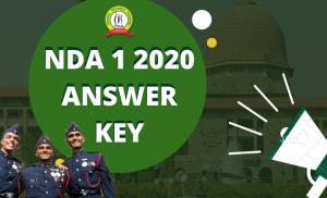 Answer Key For NDA 1 2020