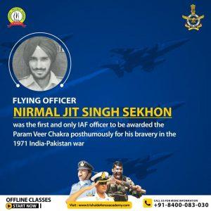 Nirmal Jit Singh Sekhon The Flying Hero Of 1971 War