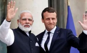 India Stands With France Over Personal Attacks On Emmanuel Macron