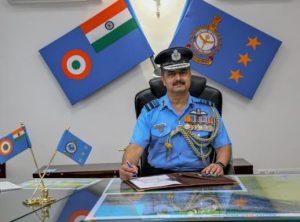 Western Air Commander Visits Jammu Air Base