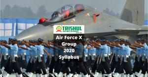 AirForce 2020 X Group Syllabus