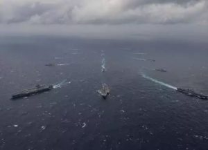Second phase of Malabar exercise from today, India To Join Allies In Indian Ocean