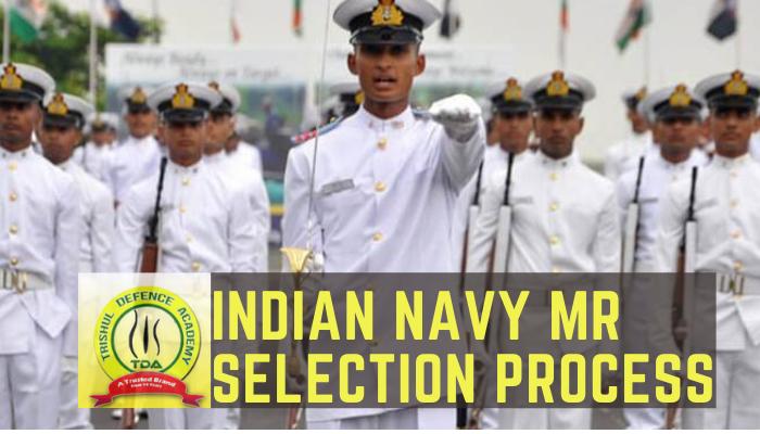 Indian Navy selection process