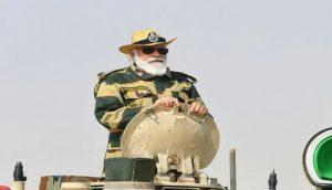 PM Modi Gives Strong Message To Pak-China From Longewala