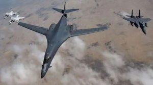 US Bomber Jets Trespass Chinese Air Zone