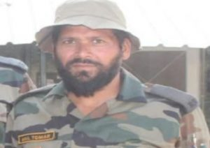 Constable Anil Tomar of Sisauli martyred in Kashmir
