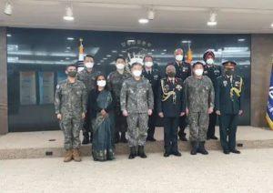 Army Chief MM Naravane on three-day South Korea tour