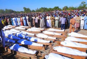 Boko Haram Armed Terrroists Behead 110 People In Nigeria