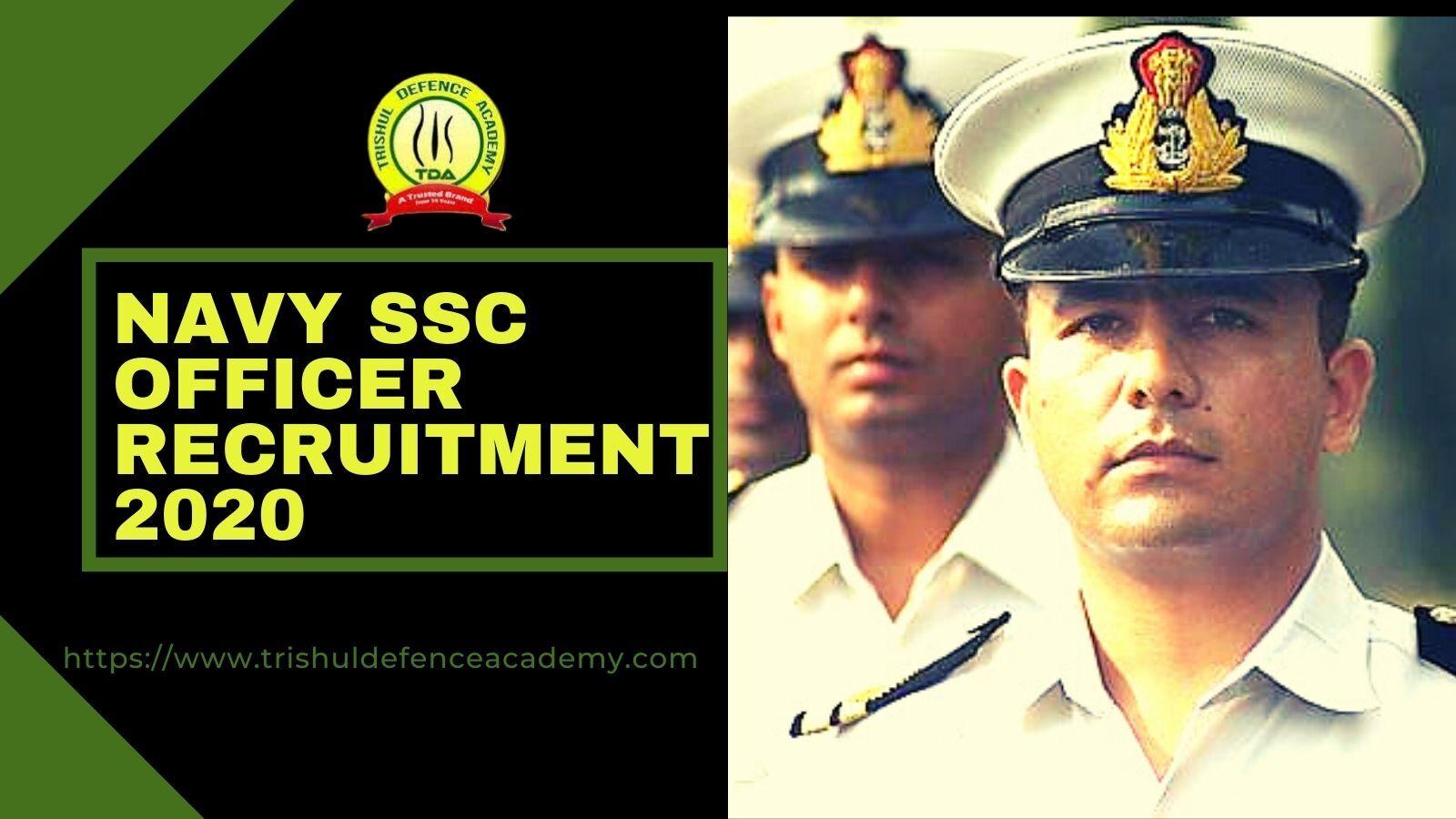 Indian Navy SSC Officer 2020