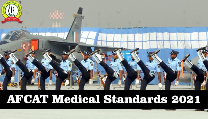 AFCAT Medical Standards