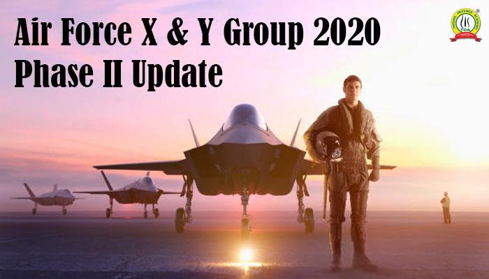 Air Force X & Y Group 2020
