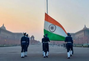 What is Beating Retreat Program, which is related to Republic Day?