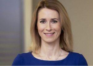 Former MEP Kaja Kalas became Estonia's first female Prime Minister