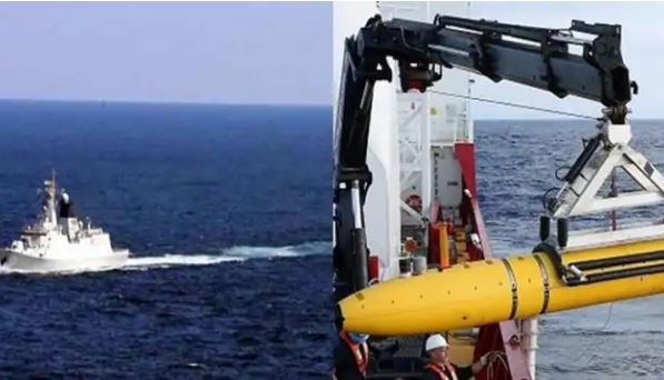 China Deploys Underwater Drones