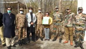 Indian Army Handovers Child Back To Pakistan