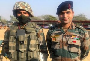 Major of Indian Army made world's first universal bulletproof jacket