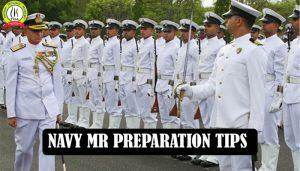 NAVY MR Preparation Tips