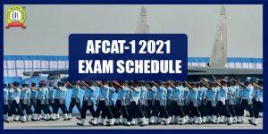 AFCAT 1 2021 Exam Schedule, Centre List Released