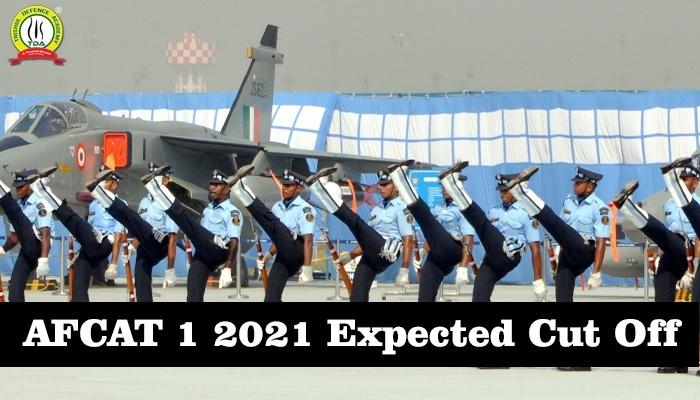 AFCAT 1 2021 Expected Cut Off