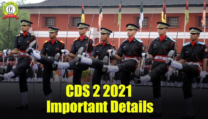 CDS 2 2021 Notification
