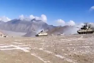 Ladakh LAC Stand-Off : China Withdraws More Than 200 Tanks In 2 Days