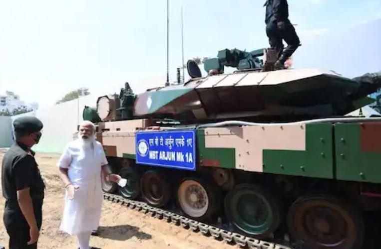 Arjun Tank M-1A