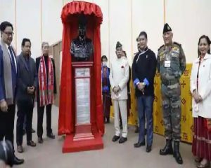 Major Khating who included Tawang in Arunachal Pradesh honored for first time