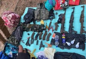 Jammu and Kashmir : Terrorist hideout busted in Anantnag forest