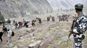 Indian Army tightens it's preparations about Amarnath Yatra