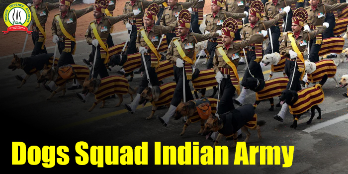 Dog Squads In Indian Army