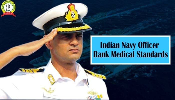 Indian Navy Medical Standards