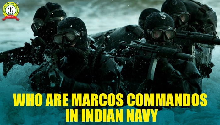 Marcos Commandos Indian Navy