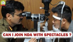 Can I Join NDA With Spectacles?