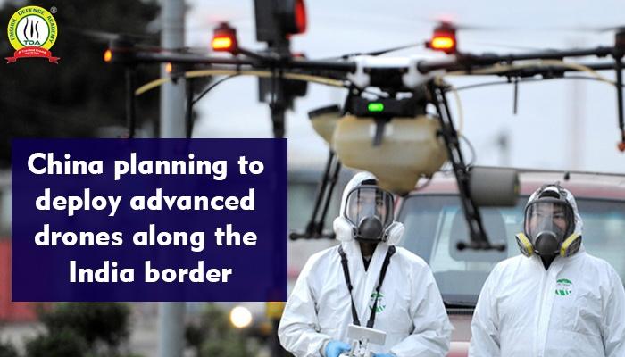 China deploys radars, drones on borders