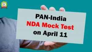 PAN-India Mock Test For NDA on April 11