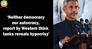 'Neither Democracy nor Autocracy, Report by Western Think Tanks Reveals Hypocrisy'