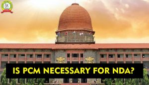 Is PCM necessary for NDA Exam?