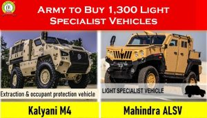 Army to Buy 1,300 Light Specialist Vehicles