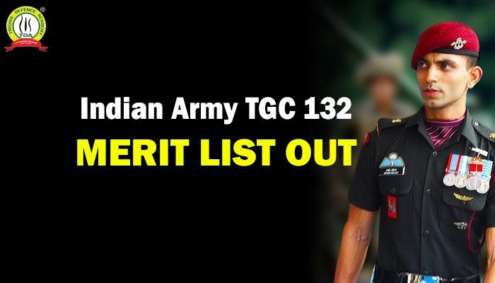 TGC 132 Merit List
