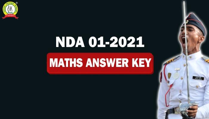 NDA 1 2021 Math Answer Key