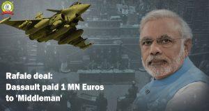 Rafale Deal: Dassault Paid 1 mn Euros to 'Middleman'